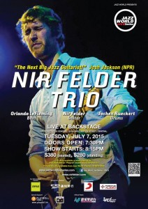 JWLS NIR FELDER poster
