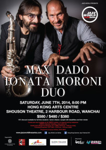 JWLS Max Ionata-Dado Moroni Duo poster layout