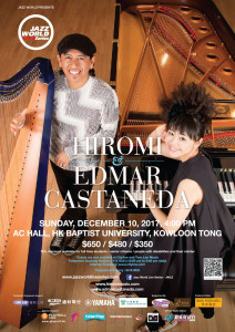 JWLS HIROMI & Edmar Castaneda poster artwork